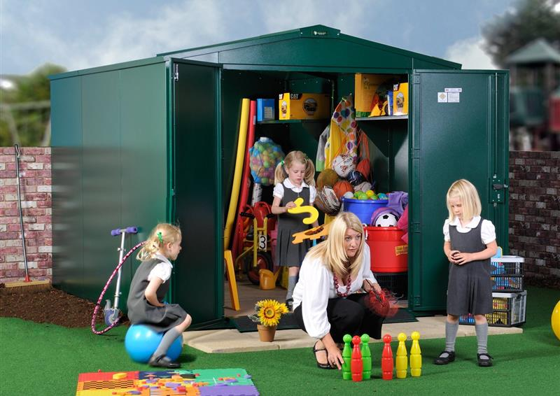 steel storage units for schools