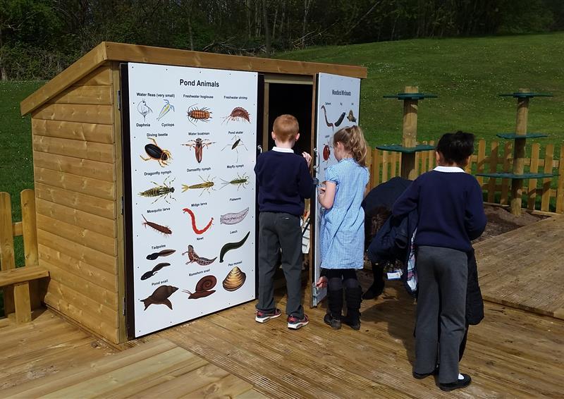 Playground storage units