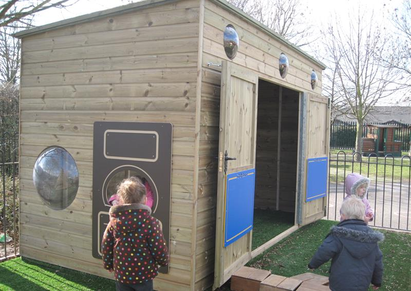 outdoor storage for schools