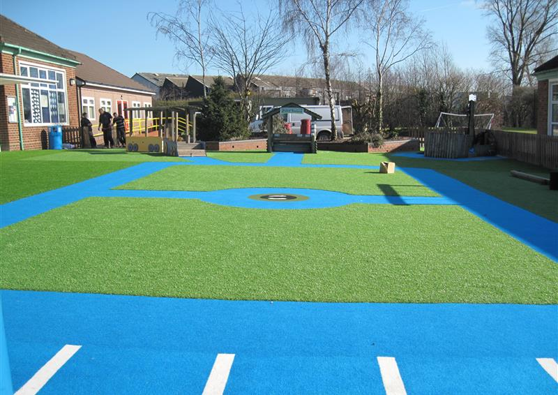 pentagon play artificial grass