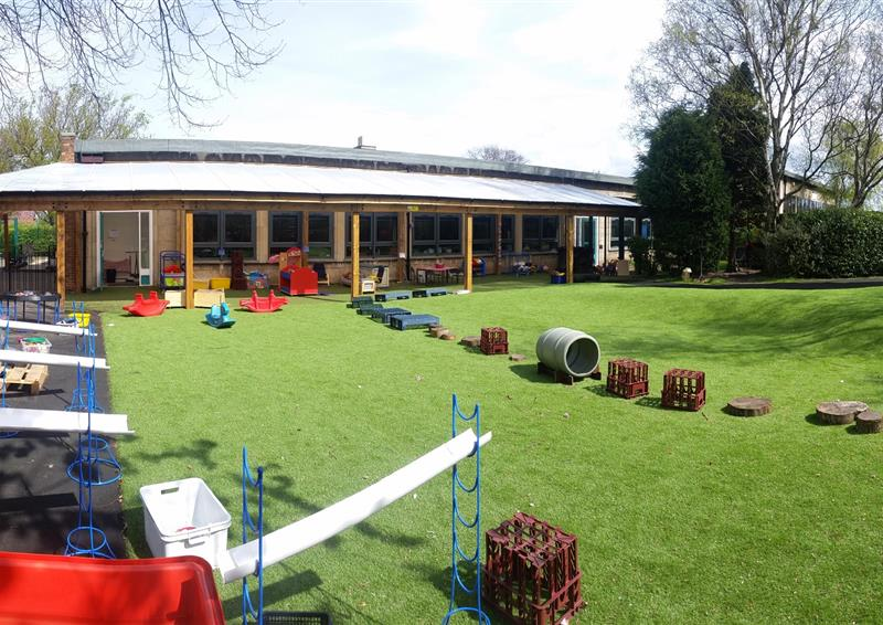 nursery artificial grass