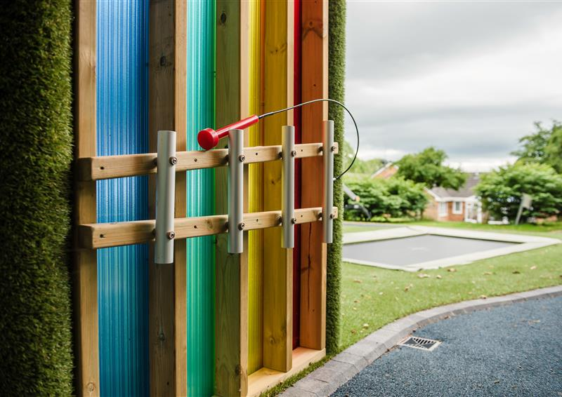 outdoor sensory play equipment