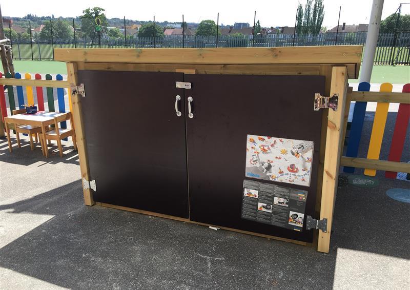 eyfs playground storage