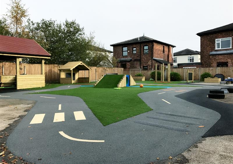 school and nursery surfacing options