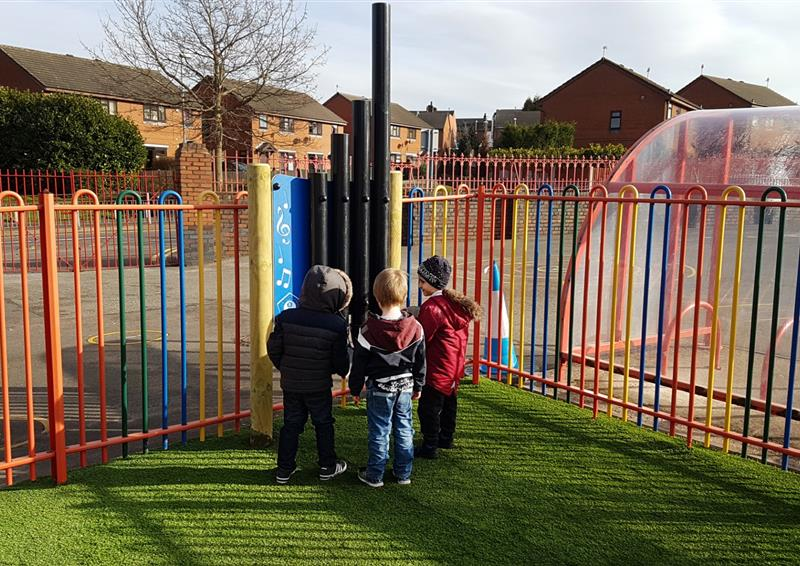 outdoor musical instruments for eyfs playgrounds