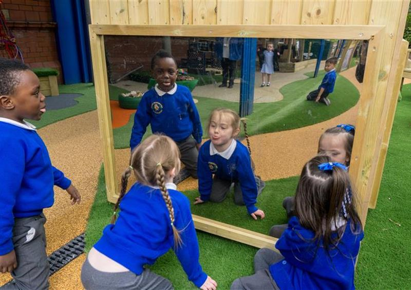 school eyfs playground equipment