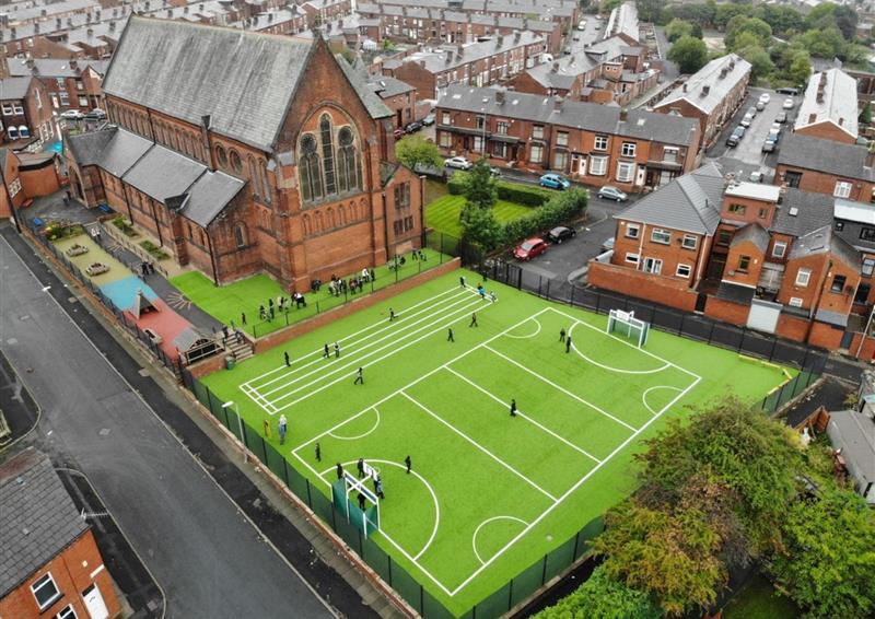 School Astroturf