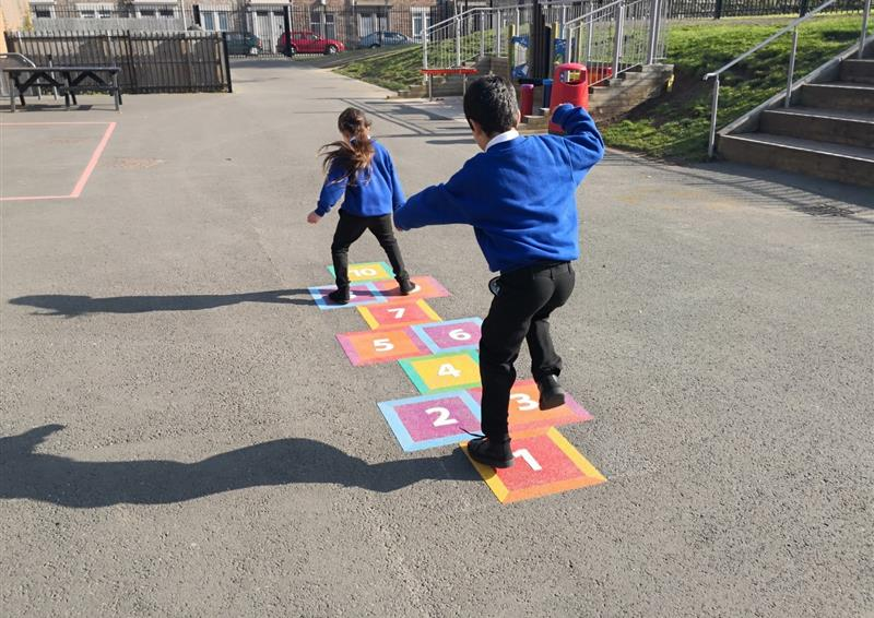 primary school playground markings