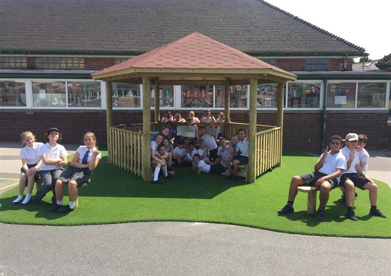 school playground outdoor classroom