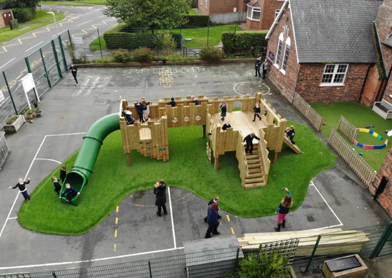 Playground Castles For School Playgrounds