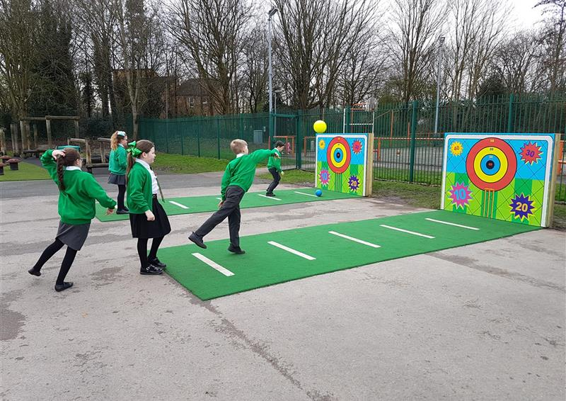 outdoor ball targets for schools