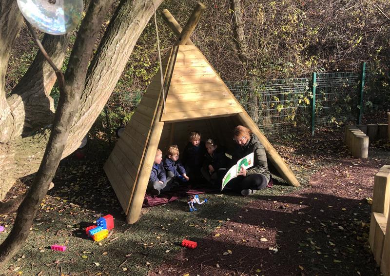 School Playground Dens