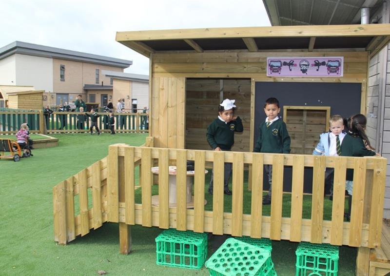 Playground Den Making Equipment for Nurseries