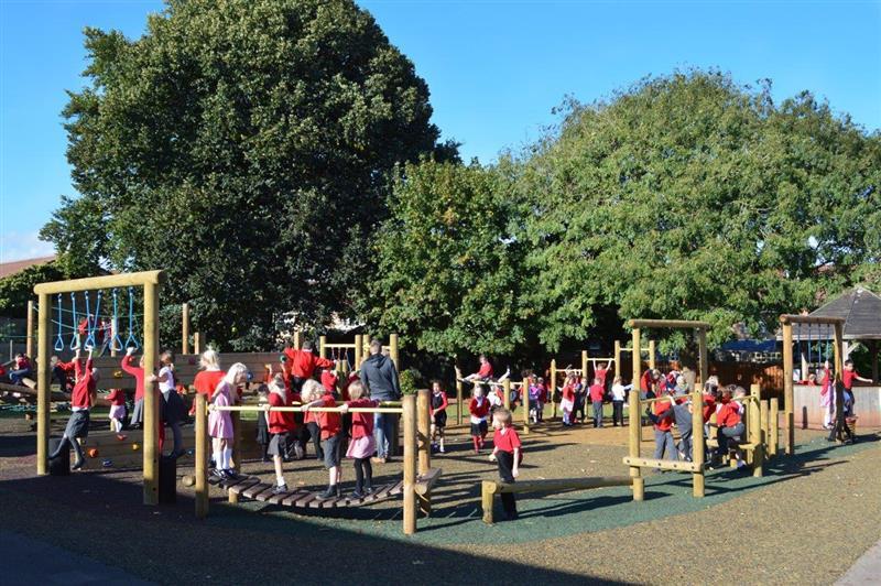 West Town Lane Ninja Warrior Playground