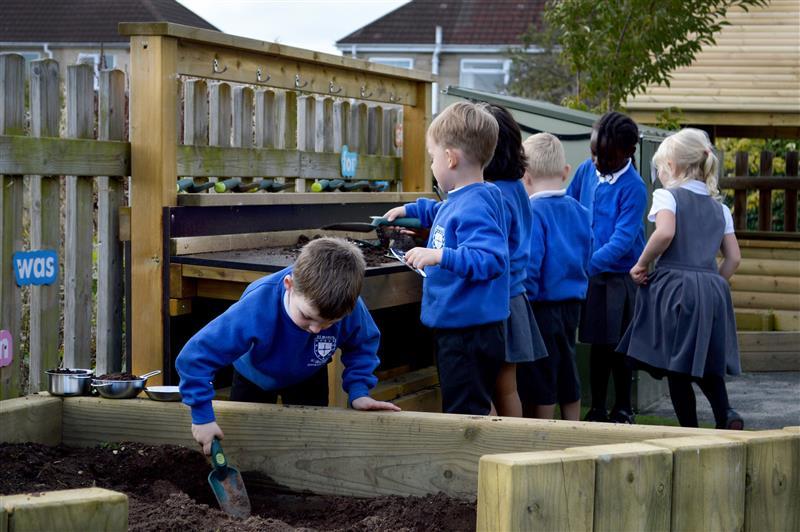 Mud Kitchen - sensory play equipment