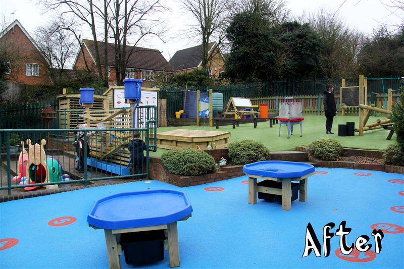 Laindon Primary School - early years playground equipment