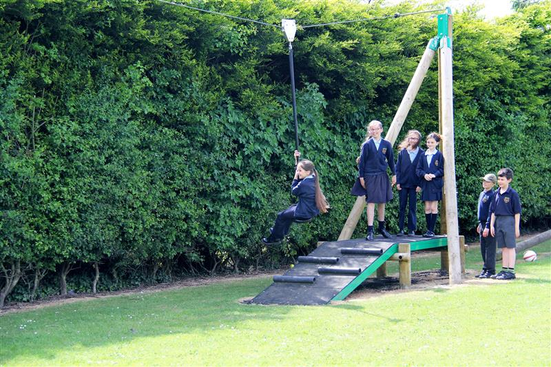 playground zip wire