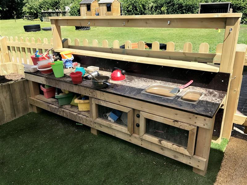 Messy Play Mud Kitchen - Pentagon Play