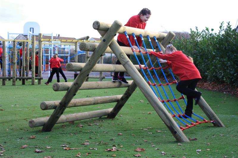 active play equipment for schools
