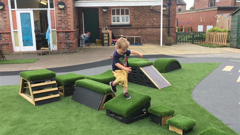 nursery garden climbing equipment