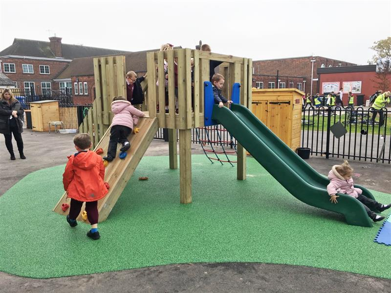 playground towers for nurseries and schools