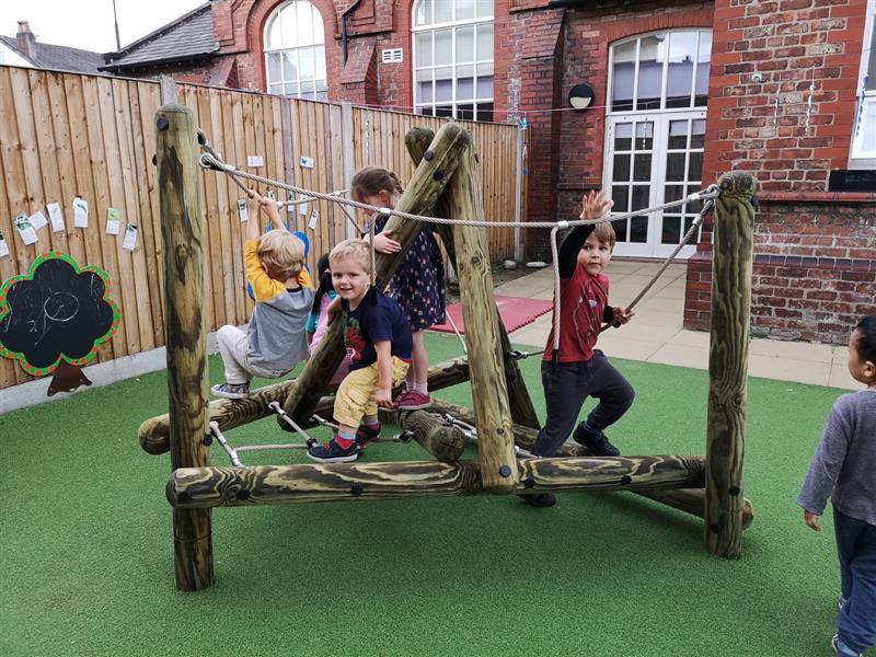nursery climbing frames