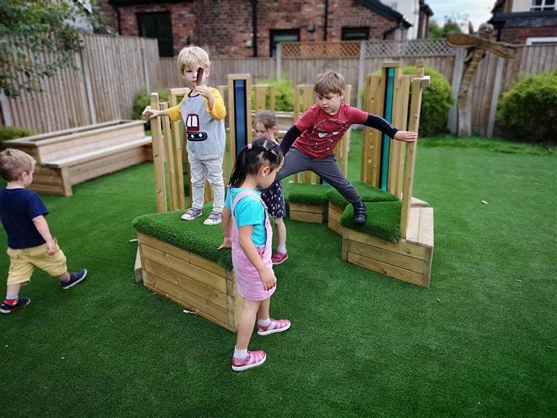 sensory nursery playground equipment