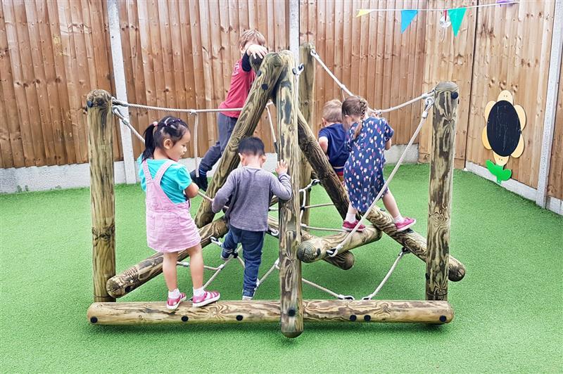 climbing frames for nursery