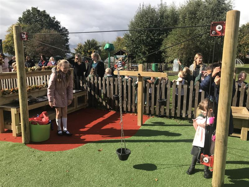messy playground equipment for eyfs