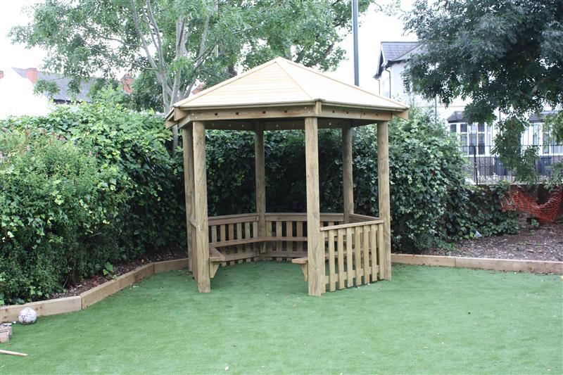 Outdoor Gazebos For Nurseries and Preschools