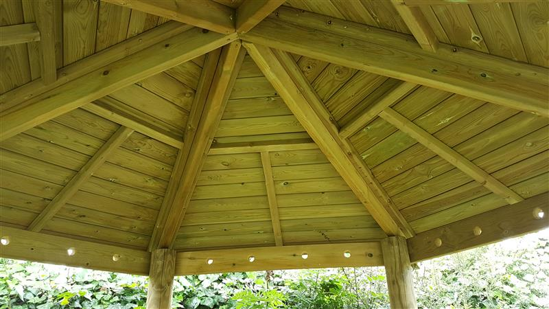 Timber Gazebos for Nursery
