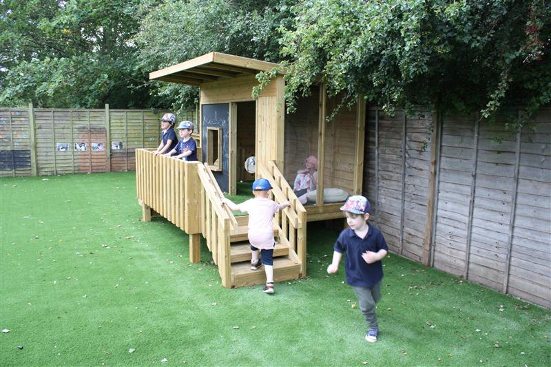 Playhouses for nurseries and preschools
