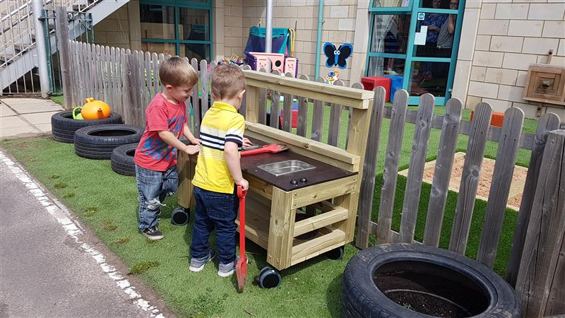 Mud Kitchens For Preschools and Nurseries