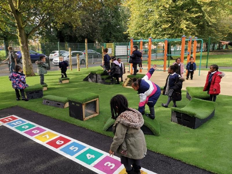 Playground Equipment for EYFS
