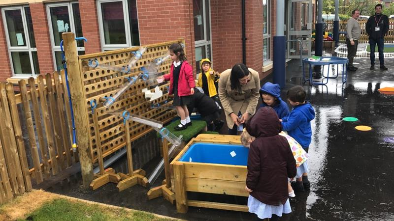 Water Play Equipment for EYFS