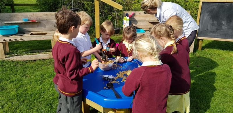 Messy Playground Equipment for Primary Schools