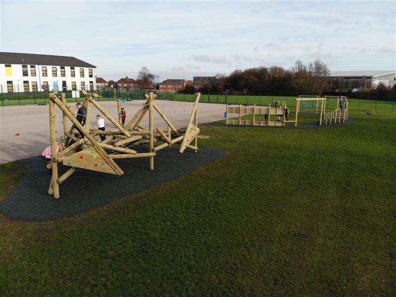 active playground equipment