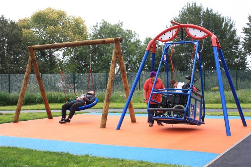 SEN Playground Swings