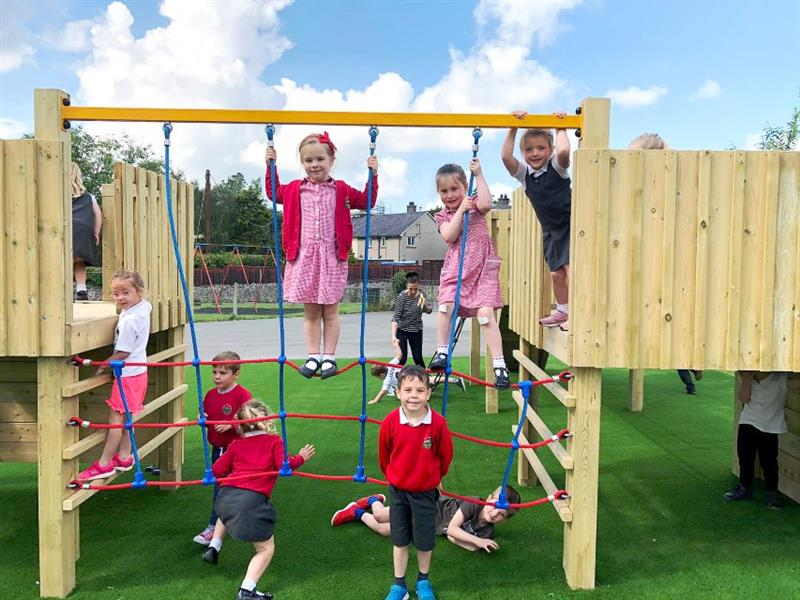 Play Towers for School Playgrounds