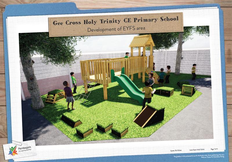 EYFS Playground Designs