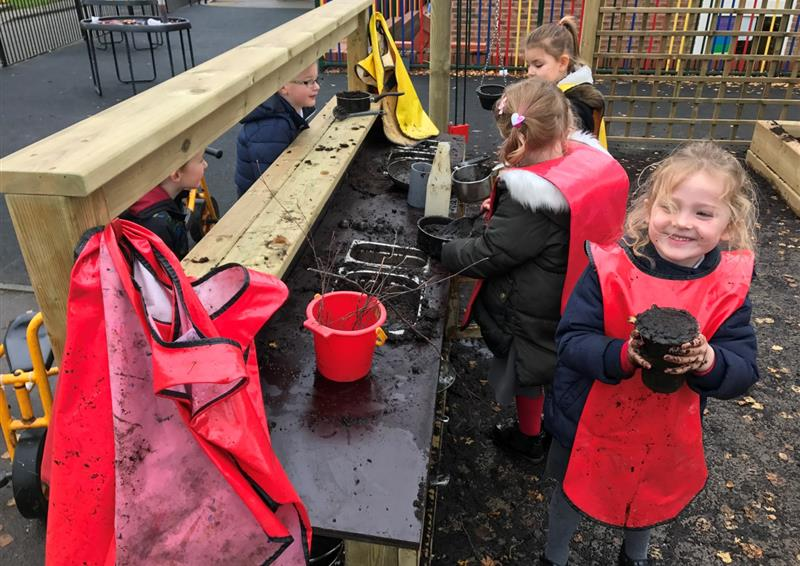 mud kitchen early years