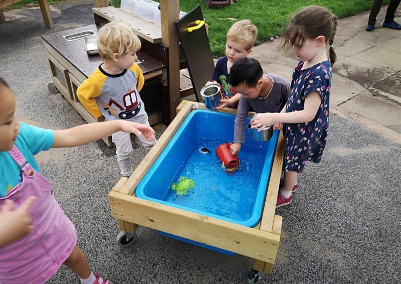water table for nurseries
