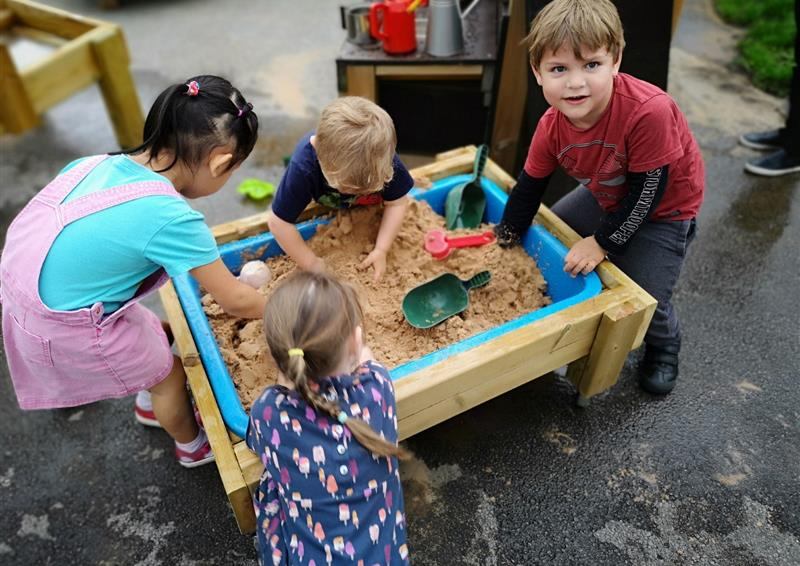sand table for nurseries and preschools